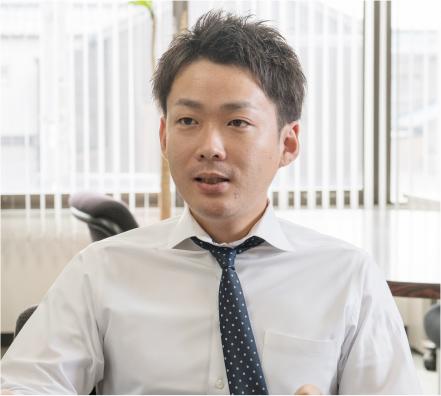 北九州営業課 営業 2010年4月入社 土井義和